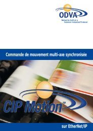 EtherNet/IP et CIP Motion - ODVA