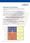 EtherNet/IP et CIP Motion - ODVA - Page 3
