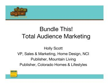 Bundle This! Total Audience Marketing - Niche Digital Conference