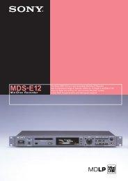 MDS-E12
