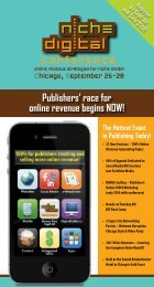 Publishers - Niche Digital Conference