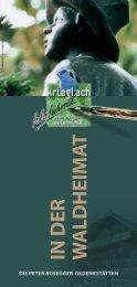 In d ER W ALd HEIm AT - Waldheimat Semmering Veitsch