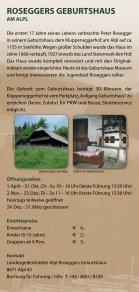 In d ER W ALd HEIm AT - Waldheimat Semmering Veitsch - Seite 6