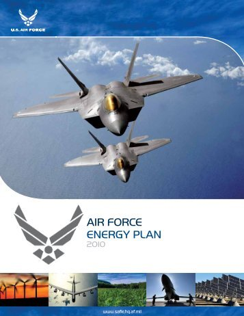US Air Force Energy Plan - Air Force Installations, Environment ...