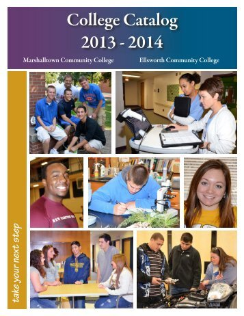 College Catalog 2013 - 2014 - Iowa Valley Community College District