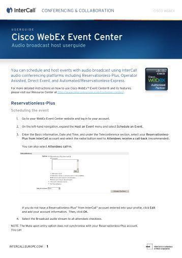 Dcs World Server Hosting: Webex Host
