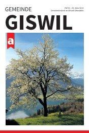 Gemeinde Giswil 2015-10
