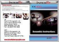 EX300 & EXD400 Instructions
