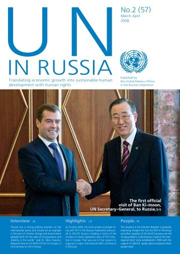 March-April - UN Russia