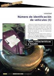 Número de identificación de vehículos (II) - Centro Zaragoza