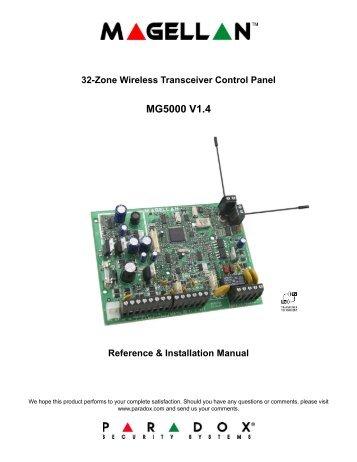 dgp 848 reference and installation manual paradox rh yumpu com