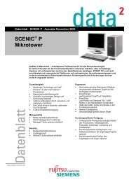 Datenblatt: SCENIC P - produktinfo.conrad.com