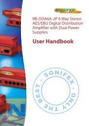 User Handbook - Visono Media AB