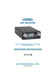 UCR511 - Visono Media AB