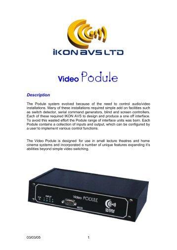 Video Podule - Visono Media AB