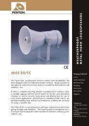 MHS 20/TC - Visono Media AB