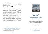 Broadcast - Visono Media AB