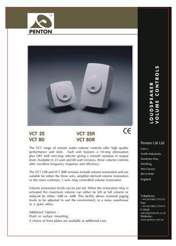 vct 25r volume control - Visonomedia.com