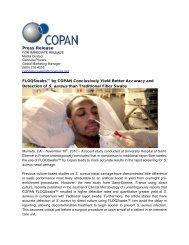 Press Release - Copan Italia
