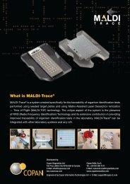 What is MALDI-Trace® - Copan Italia
