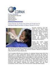 download article - Copan Italia