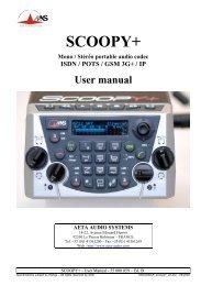 User Manual - AETA Audio Systems
