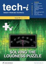 Solving the Loudness Puzzle - PDF - Aspen Media.