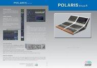Stagetec Polaris touch Brochure - PDF - Aspen Media.