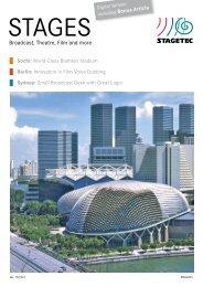 Stagetec Stages Magazine 2012 - PDF - Aspen Media.