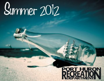Summer Brochure - Port Huron City Recreation