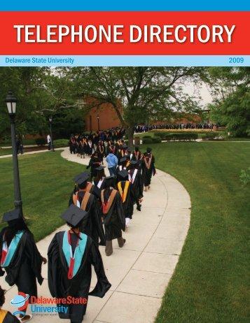 Telephone DirecTory - Delaware State University