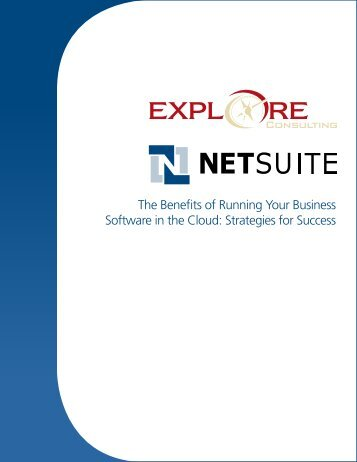 The Benefits of Running Your Business Software in the Cloud ...
