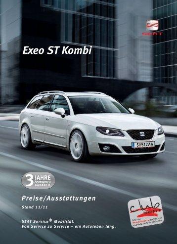 Seat Exeo ST Preisliste [PDF]
