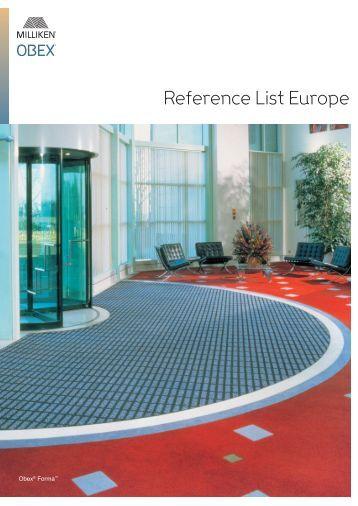 Reference List Europe - Milliken