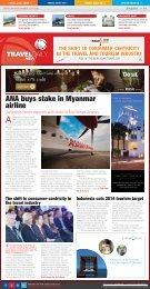 ANA buys stake in Myanmar airline - Travel Daily Media