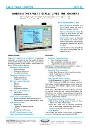 ECFL 30 Cable Fault Locator - Elektronika