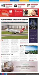 Qantas boosts international routes - Travel Daily Media