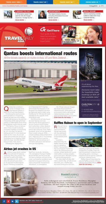 Qantas' amazing safety record