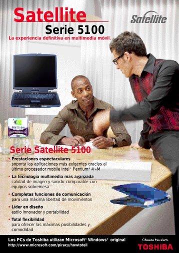 Serie Satellite 5100 - Toshiba