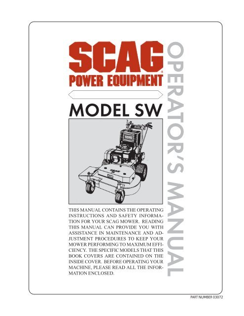 SCAG POWER EQUIPMENT 48203 made with Kevlar Replacement Belt