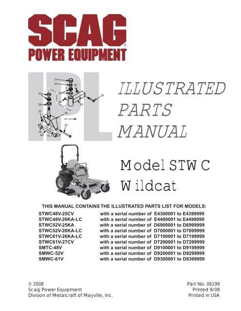 SMTC-52A SMTC-48V SMWC-61V PTO SWITCH fits Scag SMTC-48A SMWC-52V SMTC-61A