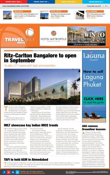 Friday 26th July 2013.indd - Travel Daily Media