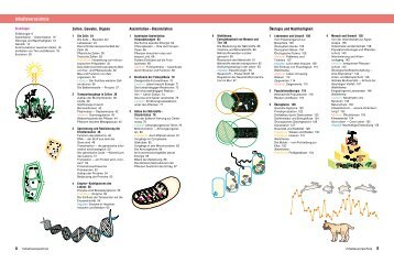 Inhaltsverzeichnis Natura Oberstufe Sachsen (PDF, 999 kB)