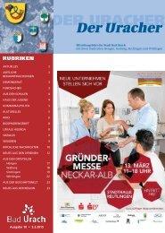 Der Uracher KW 10-2015