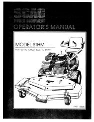 Download Manual - Scag Power Equipment