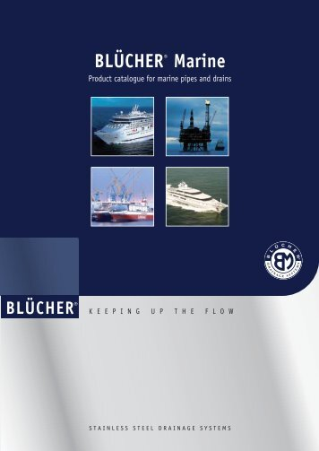 Download the Blucher Marine Catalog - Marine Plant Systems