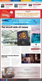 Thai aircraft skids off runway - Travel Daily Media