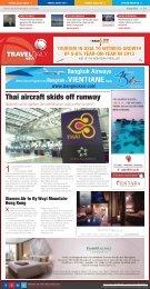 Thai aircraft skids off runway - Travel Daily Media