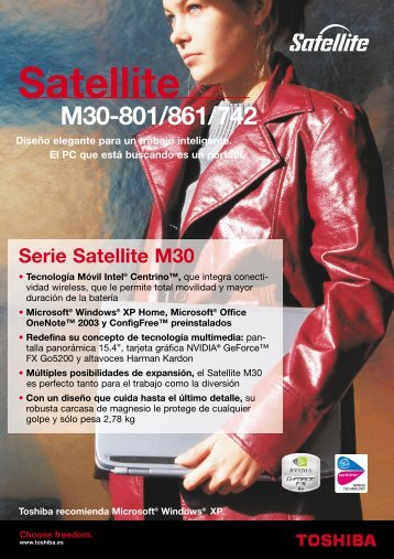 Satellite M30-801/861/742 - Toshiba