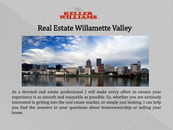 Real Estate Willamette Valley